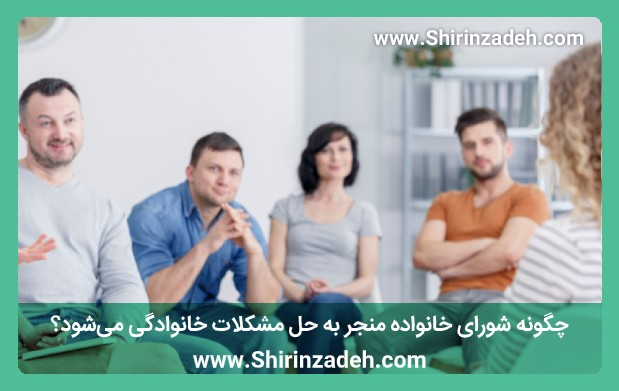 چگونه شورای خانواده منجر به حل مشکلات خانوادگی میشود؟